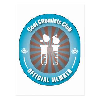 Club fresco de los químicos postal