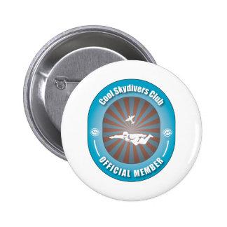 Club fresco de los Skydivers Pin Redondo 5 Cm