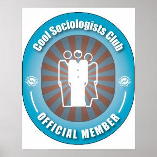 Club fresco de los sociólogos póster