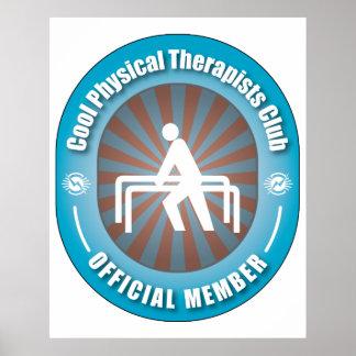Club fresco de los terapeutas físicos poster