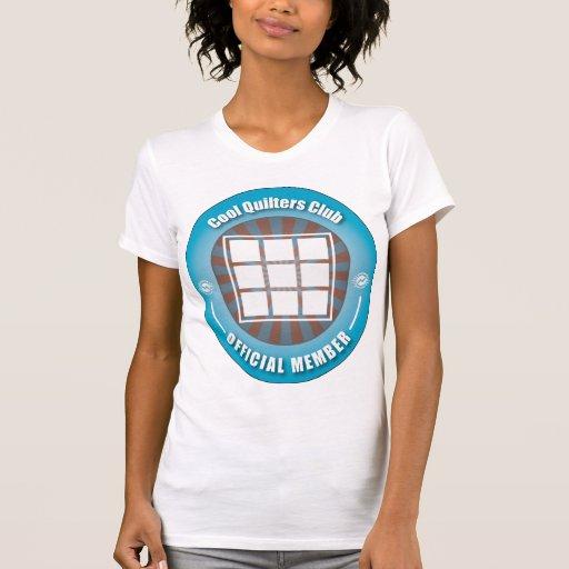 Club fresco de Quilters Camiseta