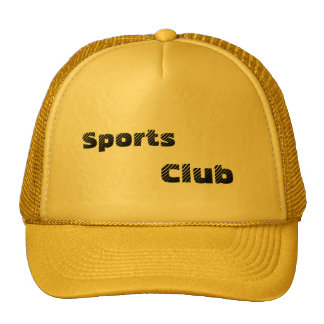 Club Hats Caps Sports Team Sports, Club Mesh Hats