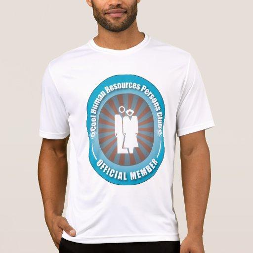 Club humano fresco de las personas con muchos recu camiseta