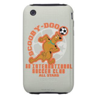 Club internacional del fútbol del SD iPhone 3 Tough Cobertura