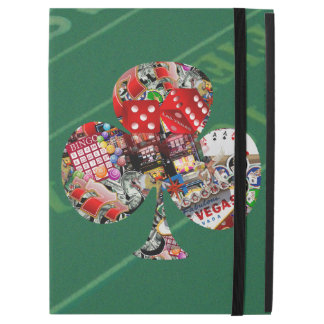 Club - Las Vegas Playing Card Shape iPad Pro Case