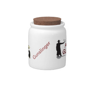 Club Logo Candy Jar with Dual Peacemakers