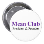 Club malo - presidente y fundador pins
