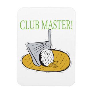 Club Master Rectangular Photo Magnet
