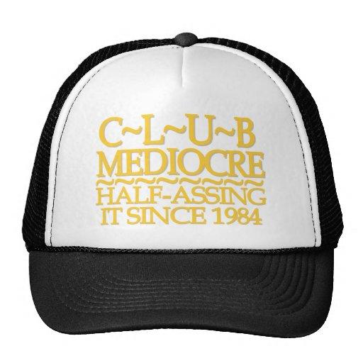 Club Mediocre Gold Trucker Hat