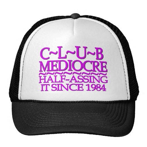 Club Mediocre Purple Hats
