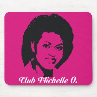 Club Michelle Mousepad en rosas fuertes