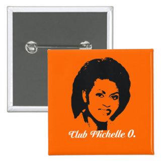 Club Michelle O. Button, calabaza Pins