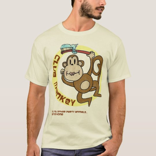 Club Monkey stays behind to clean-up T-Shirt