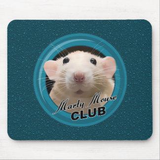 Club Mousepad del ratón de Marty con el fondo Tapetes De Raton