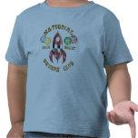 Club nacional de los dueños de Rocket de espacio Camiseta