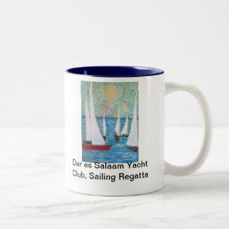 Club náutico de Dar es Salaam, navegando la taza