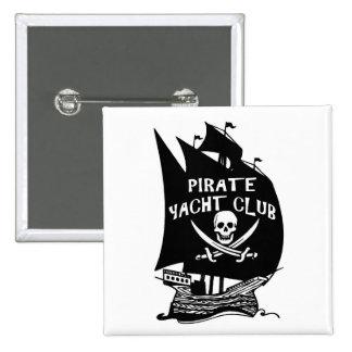 Club náutico del pirata pin