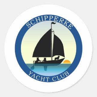 Club náutico del Schipperke Etiqueta