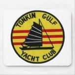 Club náutico Mousepad del golfo de Tonkin Alfombrillas De Ratones