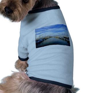 Club náutico puerto de Auckland isla del norte Camisetas De Perrito