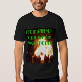 Club nocturno de Bonfire=Redneck Playeras