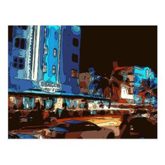 Club nocturno del sur de la playa, almas de Miami Postales