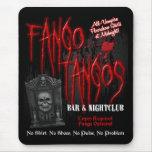 Club nocturno del vampiro de los tangos de Fango Alfombrillas De Ratones