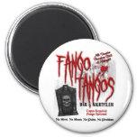 Club nocturno del vampiro de los tangos de Fango Imán Redondo 5 Cm