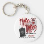 Club nocturno del vampiro de los tangos de Fango Llavero Redondo Tipo Pin