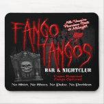 Club nocturno del vampiro de los tangos de Fango Alfombrillas De Ratón