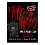 Club nocturno del vampiro de los tangos de Fango Tarjetas Postales
