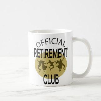 Club oficial del retiro taza básica blanca