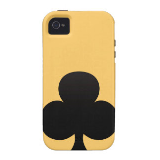 Club Poker Icon iPhone 4/4S Cases