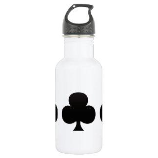 Club Poker Icon Water Bottle