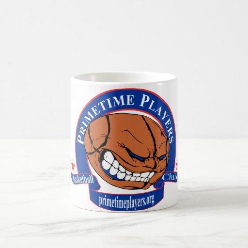 Club Primetime del baloncesto de los jugadores Tazas De Café