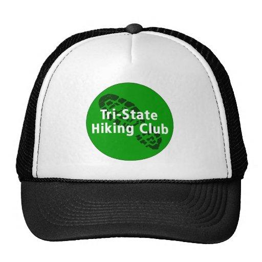 Club que camina de triple estado - logotipo del cí gorra