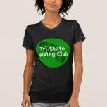 Club que camina de triple estado - logotipo del camisetas