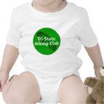 Club que camina de triple estado - logotipo del trajes de bebé