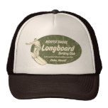 Club que practica surf en gorra verde oliva del ca
