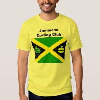 Club que se encrespa jamaicano remera