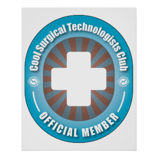 Club quirúrgico fresco de los tecnólogos impresiones