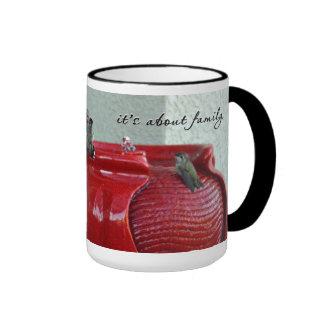Club Red Design 444 Coffee Mug