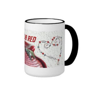 Club Red Mug Design 222