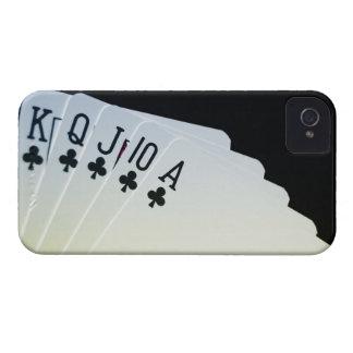 Club Royal Flush iPhone 4 Case-Mate Case