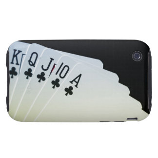 Club Royal Flush iPhone 3 Tough Case