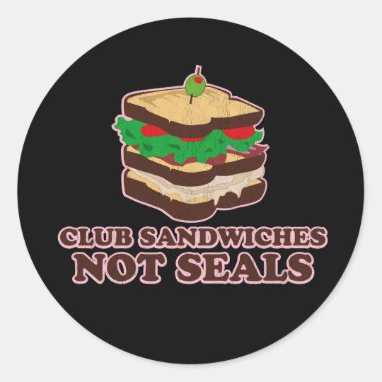 Club Sandwich Not Seals