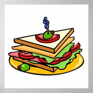 Club Sandwich Posters
