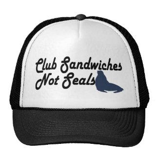 Club Sandwiches not seals Mesh Hats