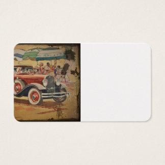 Club Sedan at Beach Business Card