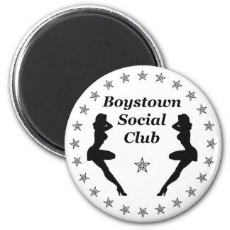 Club social de la ciudad de los muchachos imán redondo 5 cm
